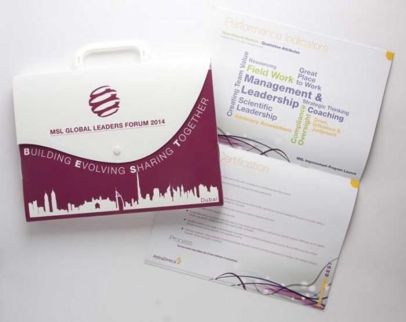Astra Zeneca Box Folder