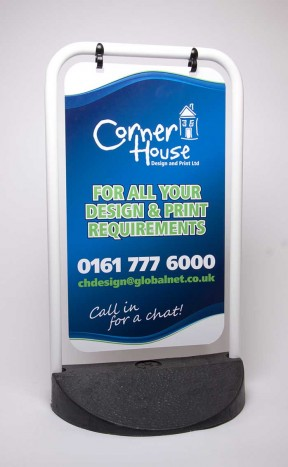 Corner House Swing Sign
