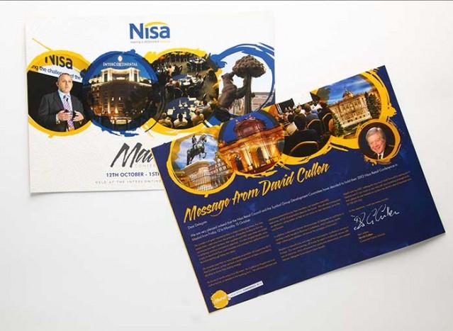 Nisa Conference Brochure