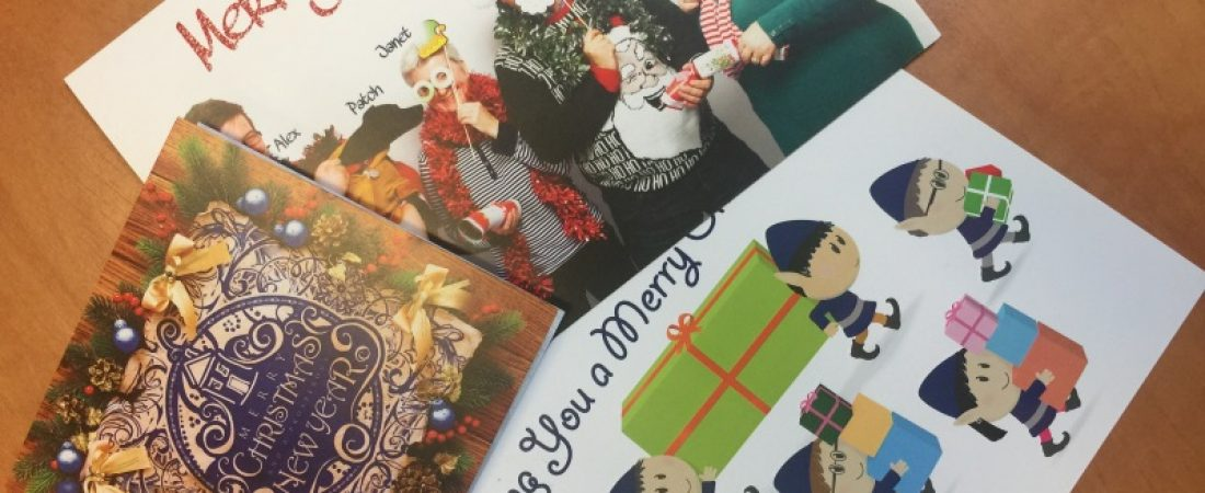 Top Tips for sending Christmas cards to your clients